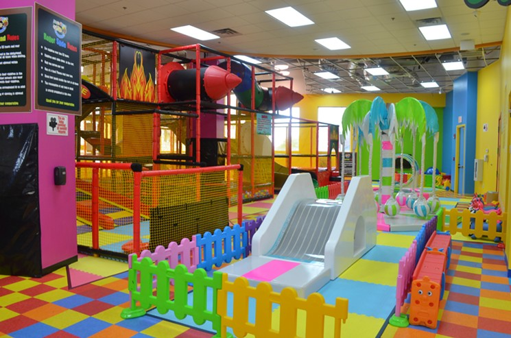 indoor and outdoor playground equipment