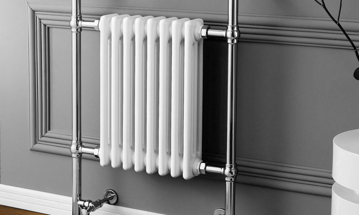 200mm wide electric towel rail