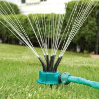 Look about the main advantages of garden sprinklers