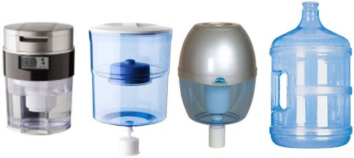 Benchtop water purifiers