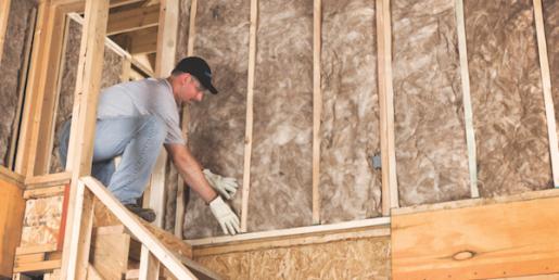Attic insulation methods