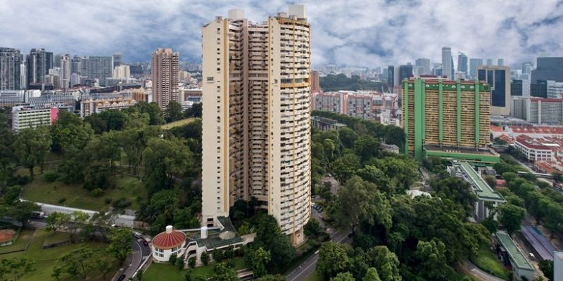 one pearl bank condo in Singapore